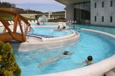 Spa and wellness pools in Hotel Saliris near the salt hill Hungary